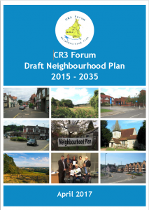 CR3 Forum draft Neighbourhood plan April 2017 front cover